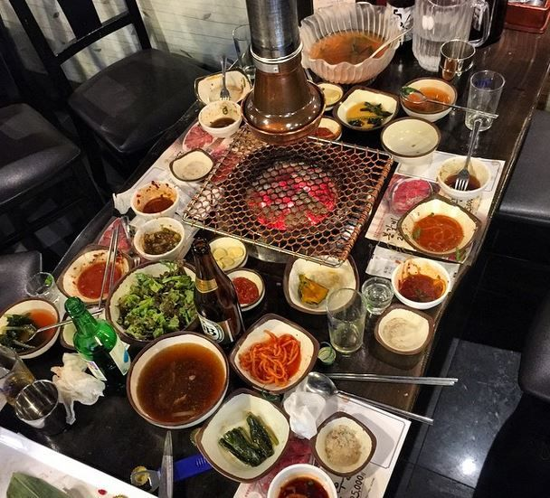 Guide to a long layover in Seoul, South Korea. Make sure to eat some delicious Korean BBQ during your layover!