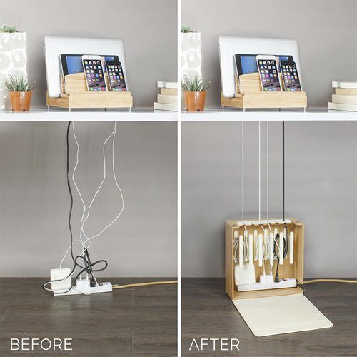 The Ultra Charging Station Cord Corral Combo Brings A Simple