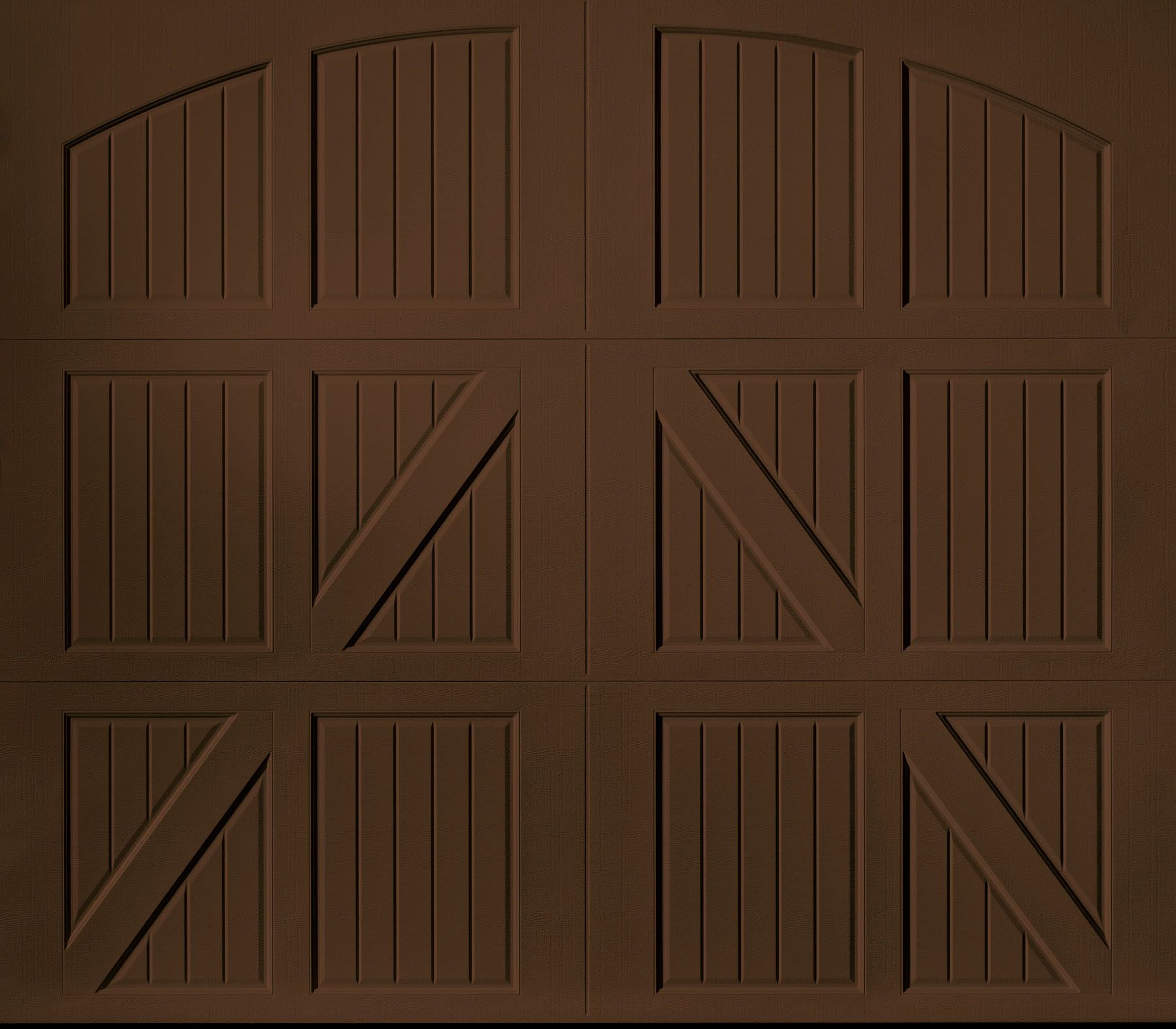 Hallway door options  Garage Doors ud Amarr Lucerne Brown  Koran Residence  Pinterest