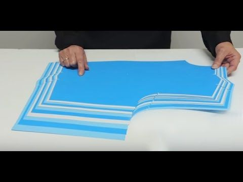 52) Grading a bodice pattern. - YouTube | pattern drafting/draping ...