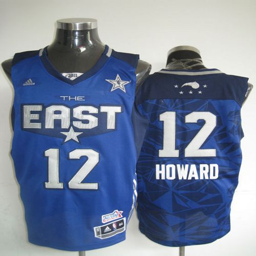 2011 All Star Magic #12 Dwight Howard Blue Embroidered NBA Jersey! Only  $20.50USD