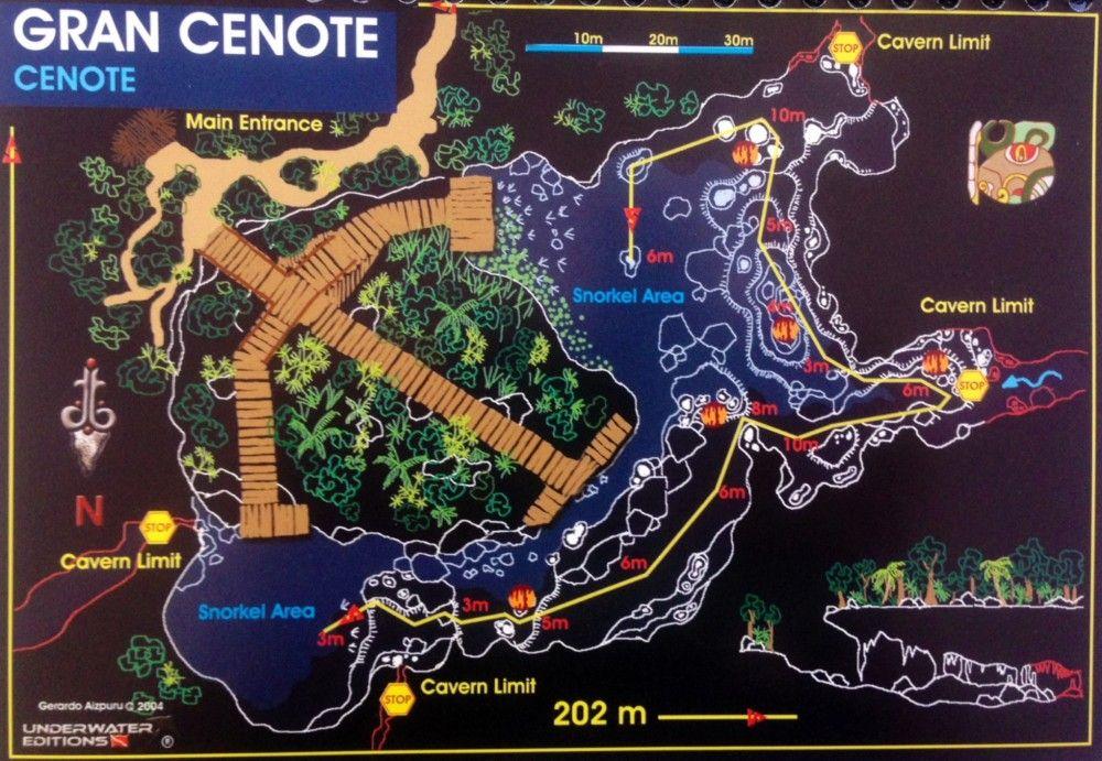 Gran Cenote Pro Dive Mexico Cenotes Cancun Trip Mexico