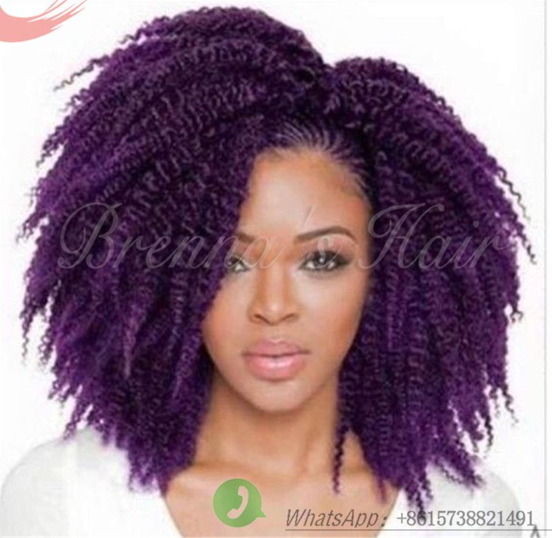 Find More Bulk Hair Information about Afor Kinky Braid Twist Mali ...