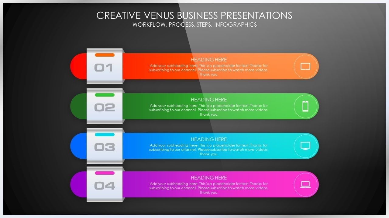 How To Create A Process List Steps Workflow Presentation Slide In Micr Powerpoint Design Templates Presentation Slides Powerpoint Design