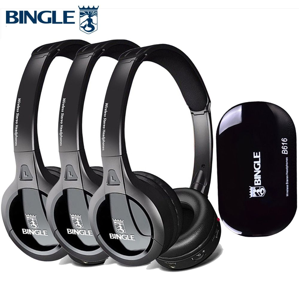 Cheap Headphone Headset Buy Directly From China Suppliers 3pcs Set High Quality Durable Audio Studio Head Phones Casque Wireless Headphones Headsets For Tv Sil