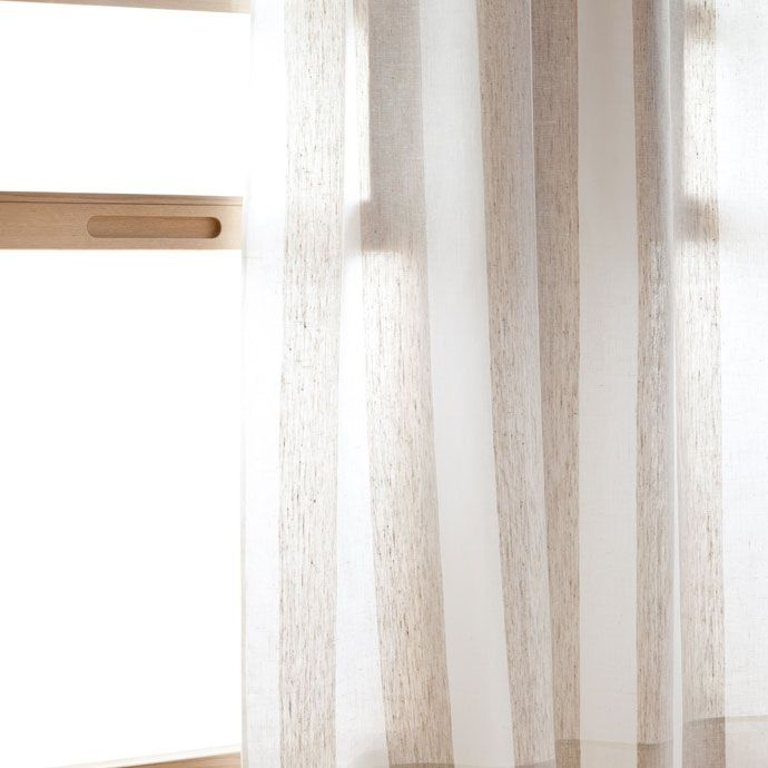 Cortina rayas bicolor cortinas decoraci n zara home espa a decoraci n casa pinterest - Zara home kids cortinas ...