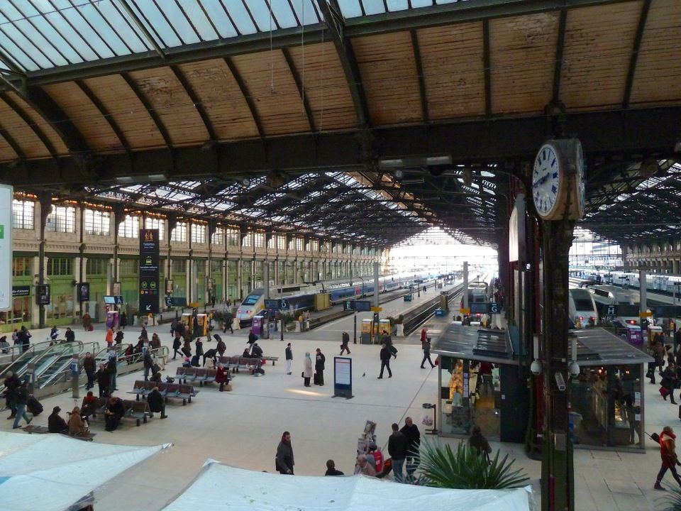 Gare SNCF de Paris Lyon Ile de france, Paris, Railway
