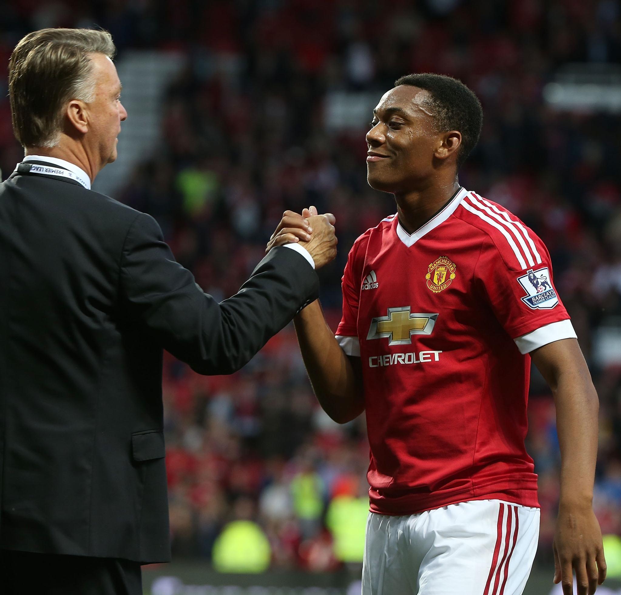 Van Gaal Hype Doesn T Affect Martial Official Manutd Website Liga Premier Manchester United Manchester