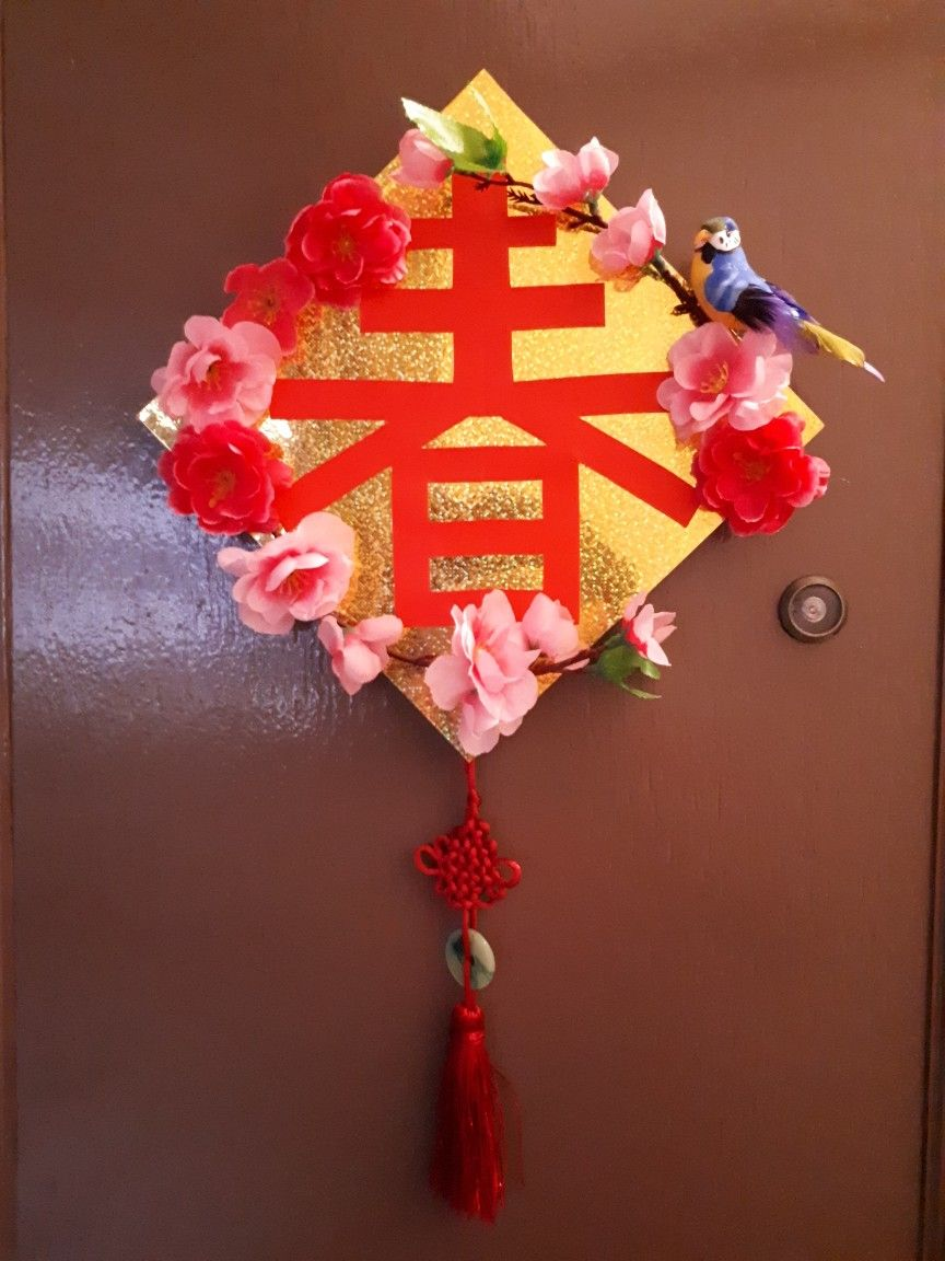 CNY Decoration | Chinese new year crafts, Chinese new year ...