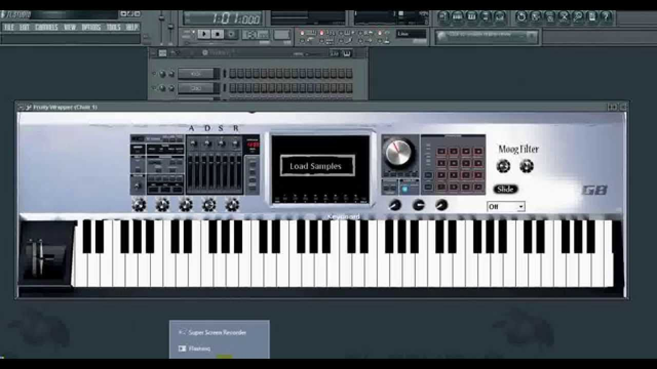 Roland Fantom G8 VST Plugin + Sound samples Fl studio