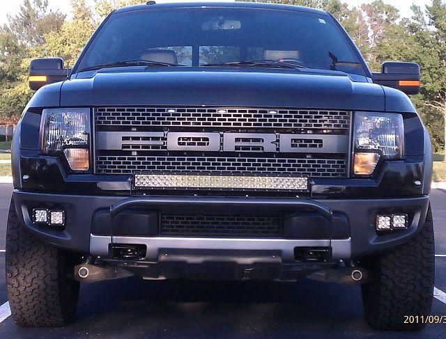 Ford raptor led light bar set up jam designs led light bars ford raptor led light bar set up aloadofball Choice Image