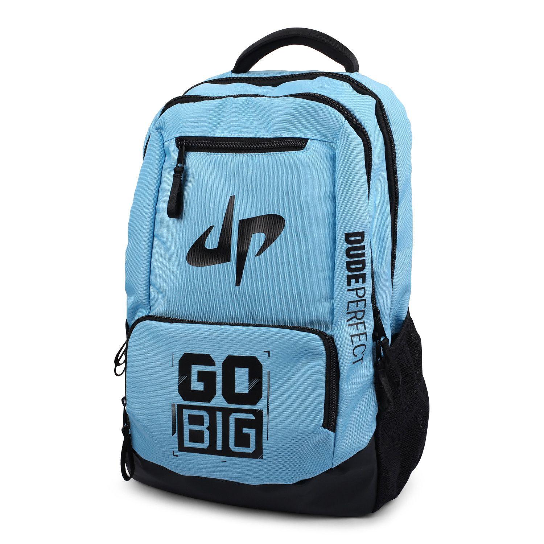 db1f3fdb0d54 Dude Perfect Backpack // Blue + Black | dude perfect | Dude perfect ...