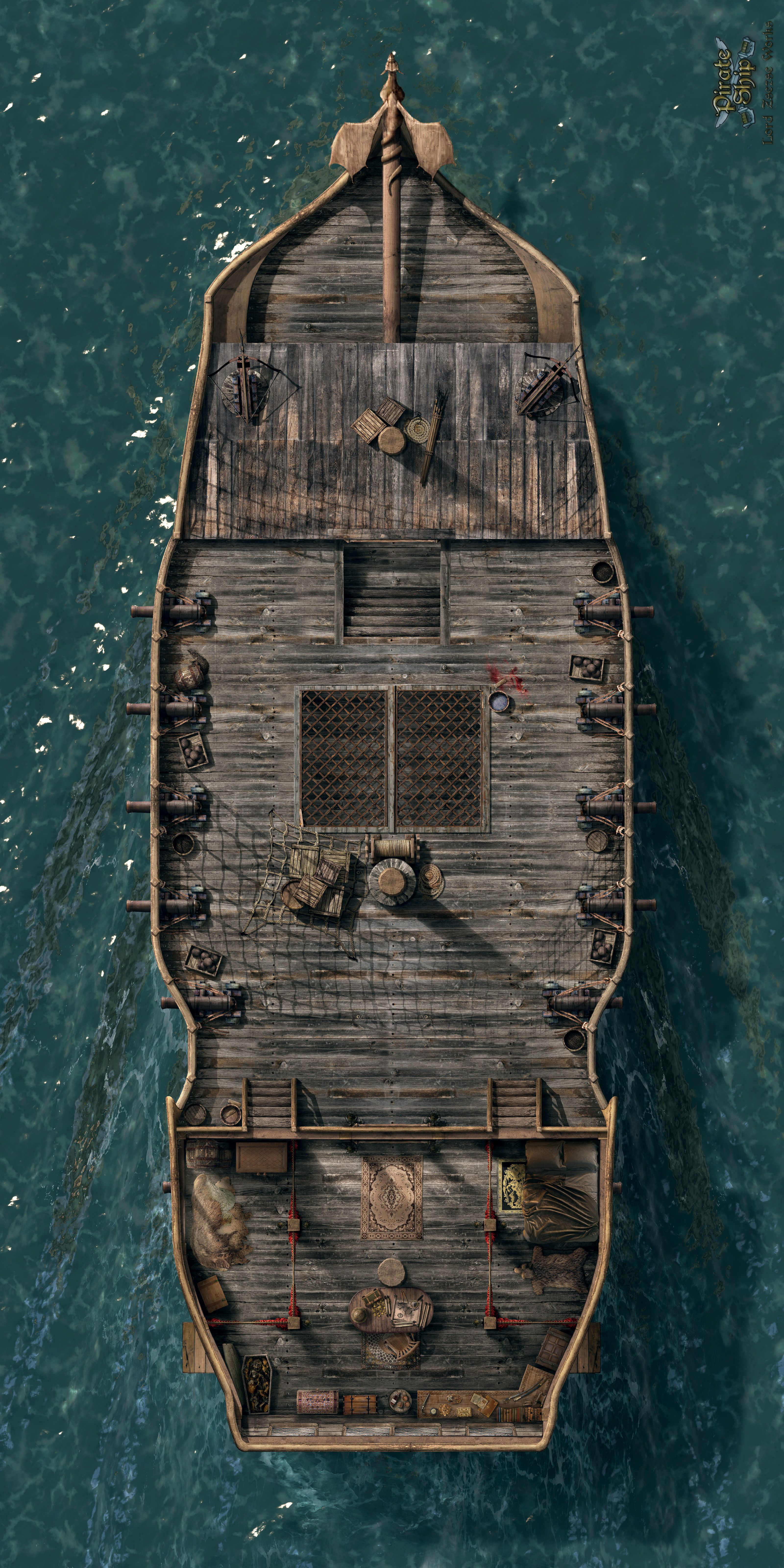 Its a pirate ship 1 of 4 RPG Reference Pinterest
