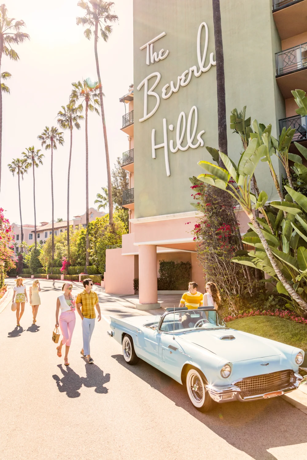 Vacation at The Beverly Hills Hotel