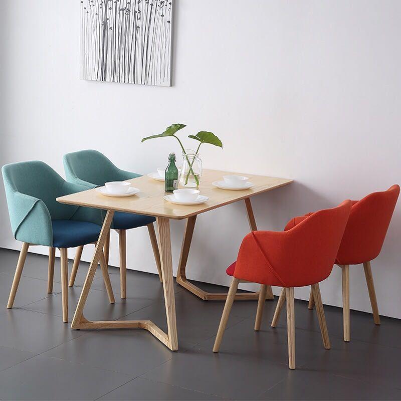 Acheter U Best Nordique Style Meubles De Maison A Manger Ensemble Table A Manger En Bois Moderne Simp Modern Dining Table Dining Table Solid Wood Dining Table