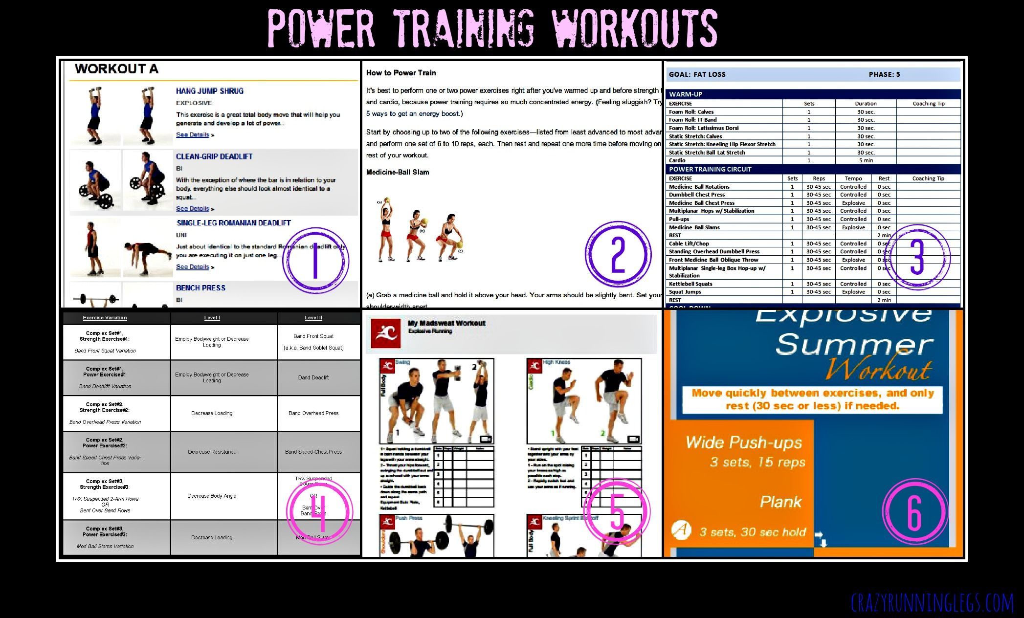 Power Training | Gettin' ripped! | Power training, Different