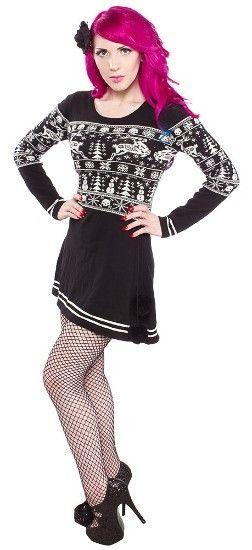 7ac7da4562e Sleigh Me Dress by Sourpuss Clothing
