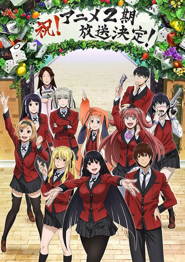 Kakegurui Anime Show 2nd Season Gets Greenlit. Manga