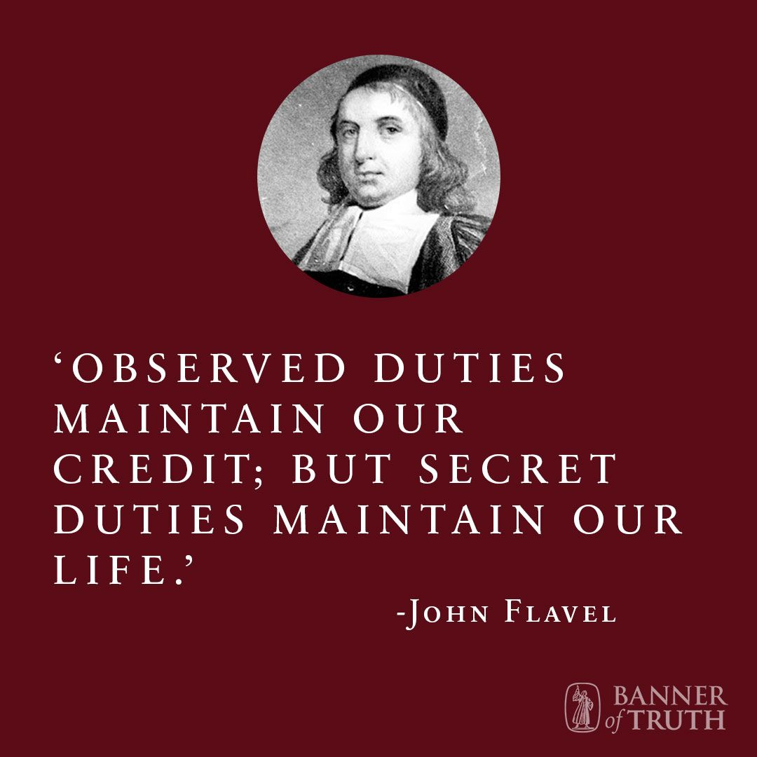 John Flavel Author Biography | Reformed theology, Wisdom thoughts ...