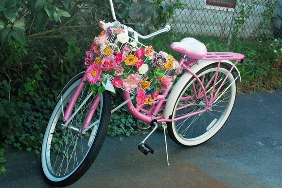Diy Flower Basket Bike Stuff To Make Pinterest 400 x 300