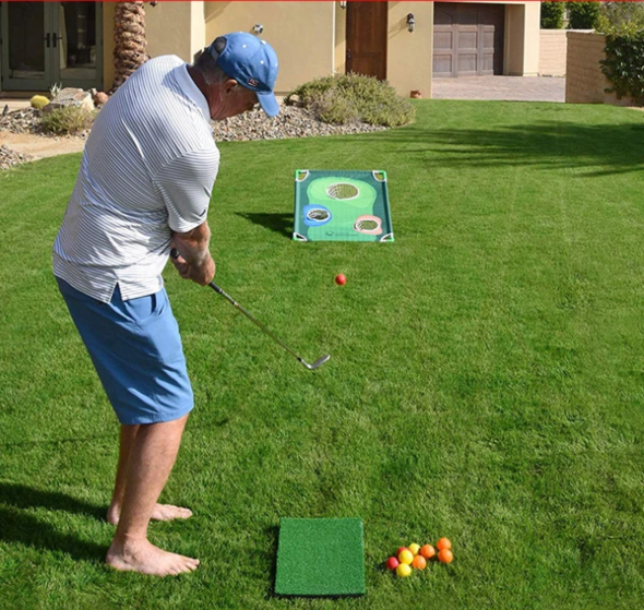 Outdoor Golf Game Tender Hearts Backyard Games Golf Game Corn Hole Game