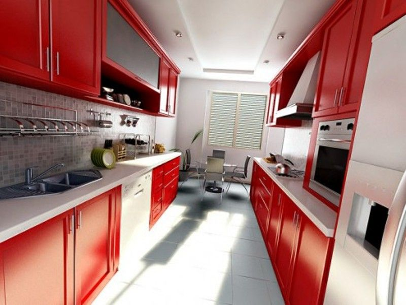 Red Lux Kitchen My red Kitchenaide mixer would look lovely on