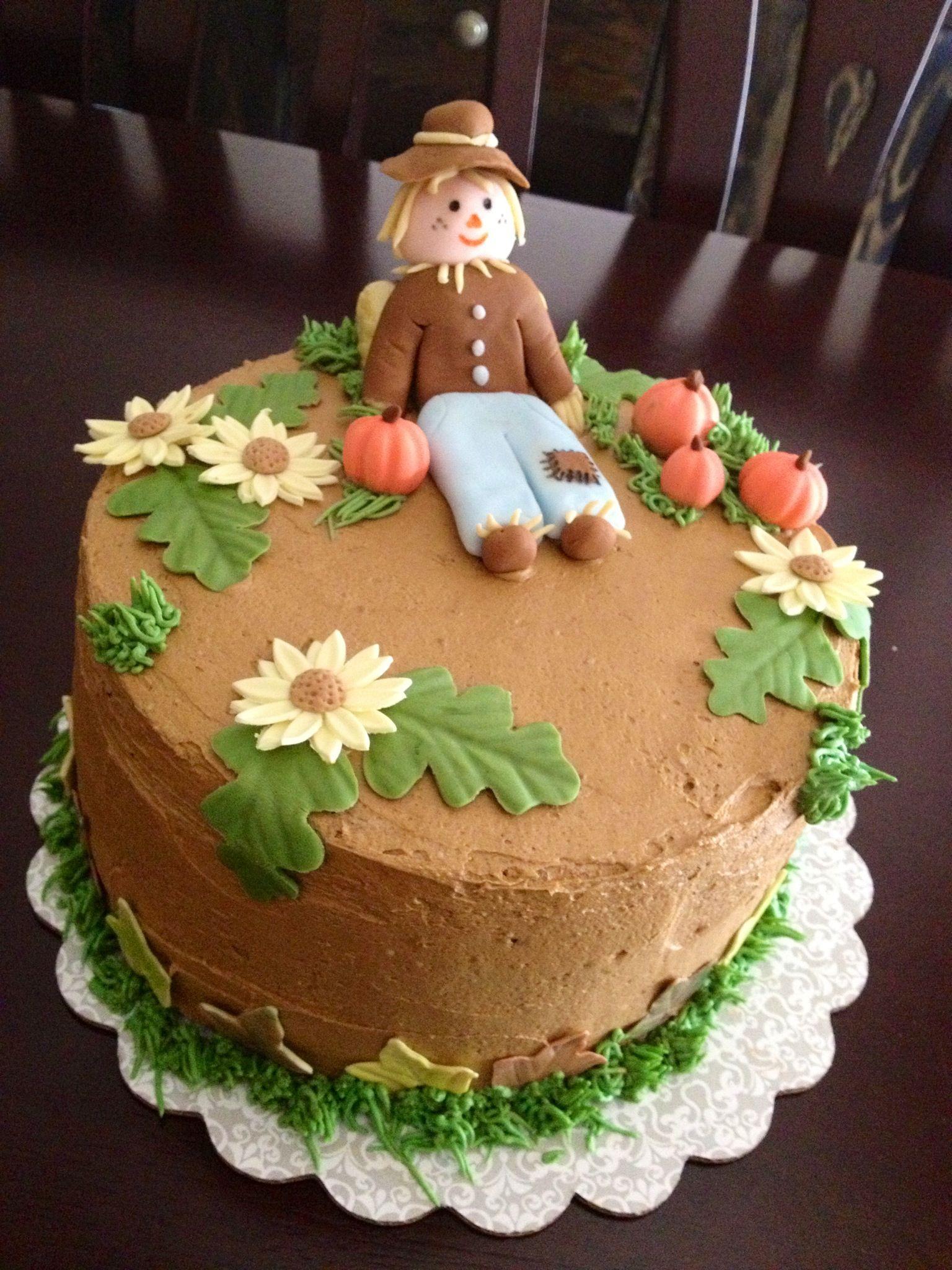 Fall Harvest cake | cake decorating | Pinterest
