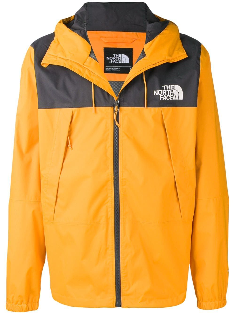 The North Face The North Face Hooded Zip Up Jacket Orange Thenorthface Cloth The North Face Zip Ups Jackets [ 1334 x 1000 Pixel ]
