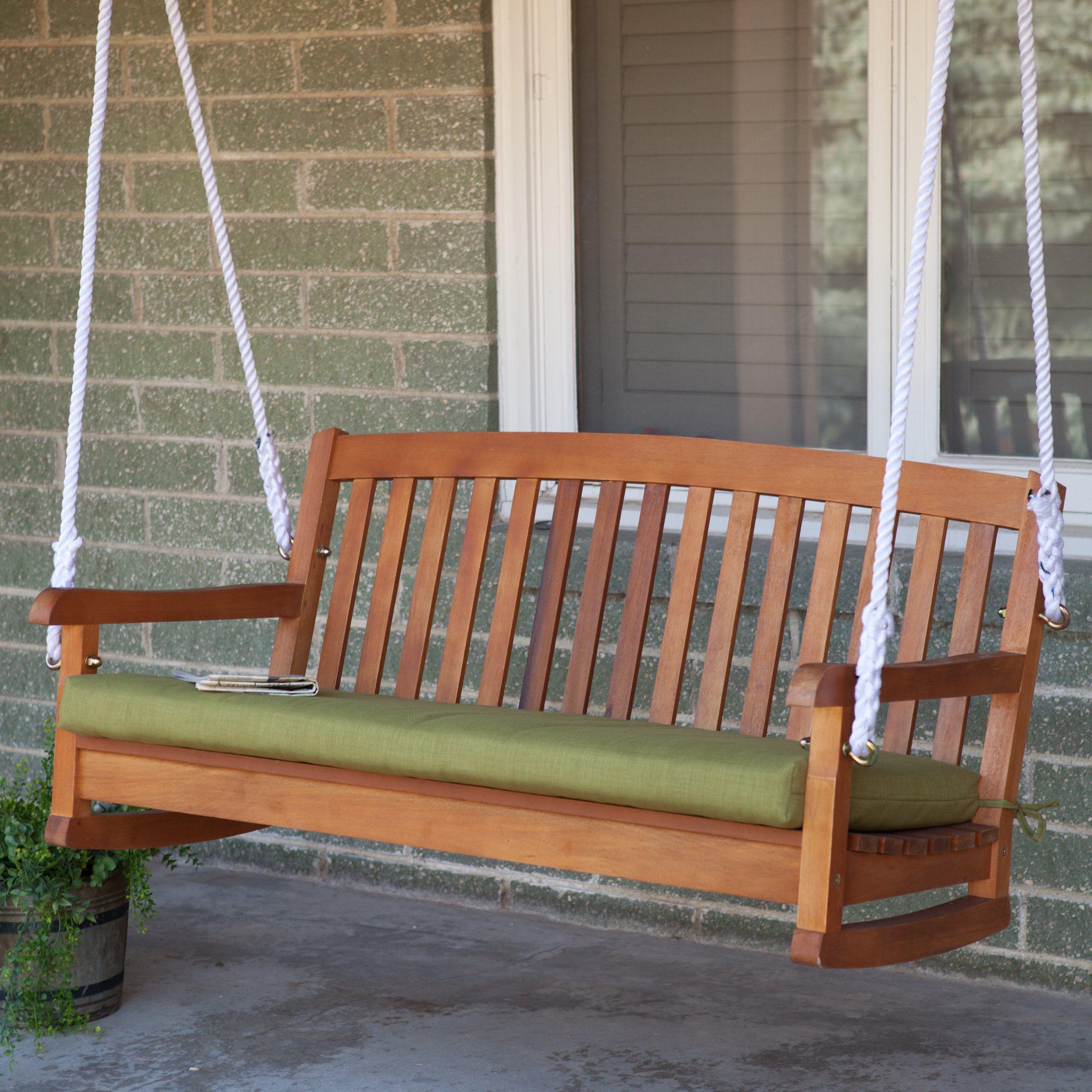 Blazing Needles Outdoor 4 Ft Patio Bench Cushion 59 99