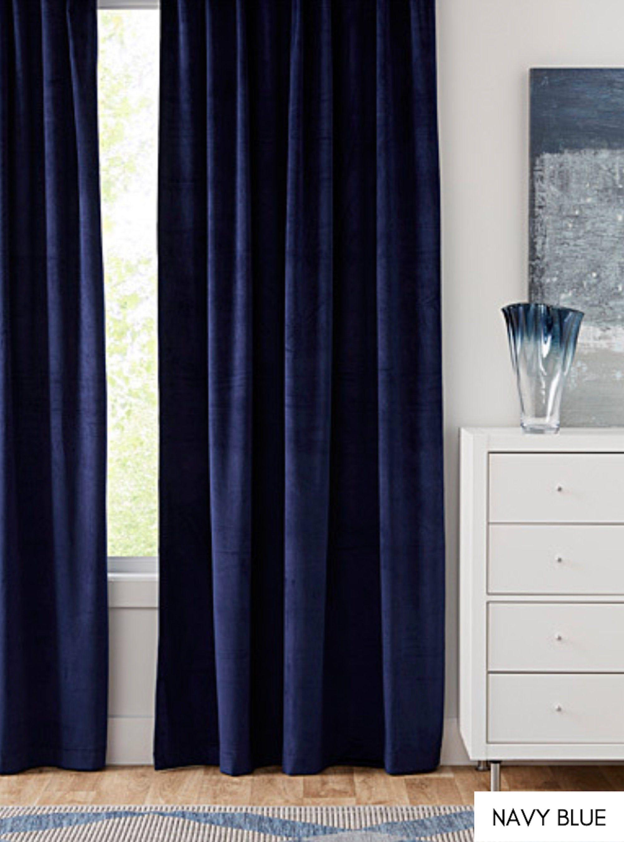 Velvet Curtains Custom Window Curtain Panels Curtain Panels Etsy