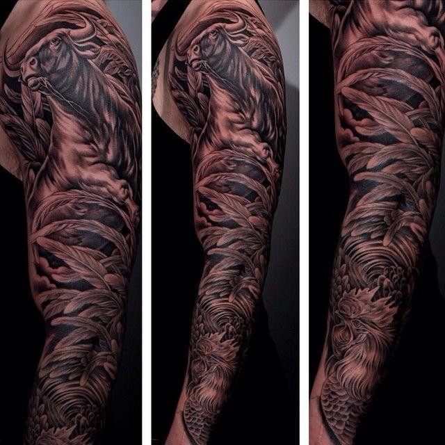 animal sleeve tattoo google s k tattoo inspo pinterest animal sleeve tattoo tattoo and. Black Bedroom Furniture Sets. Home Design Ideas