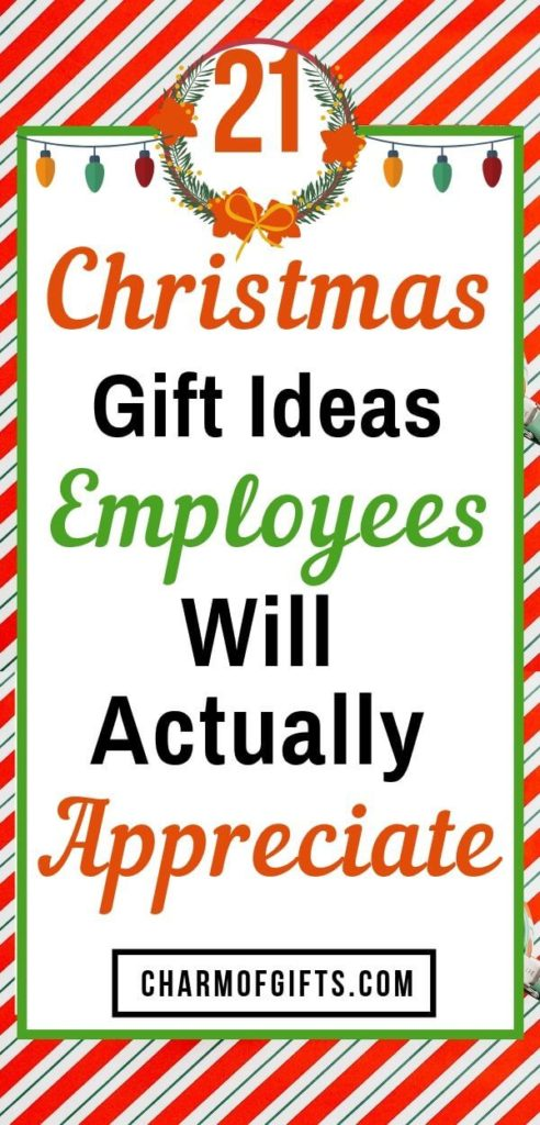 Fun Holiday Gift Ideas For Employees They Will Actually Appreciate Employee Holiday Gifts Employee Gifts Inexpensive Holiday Gifts
