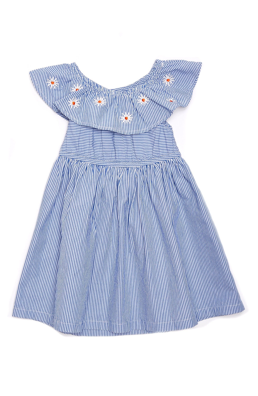 Main Image Margherita Daisy Stripe Dress Baby Girls