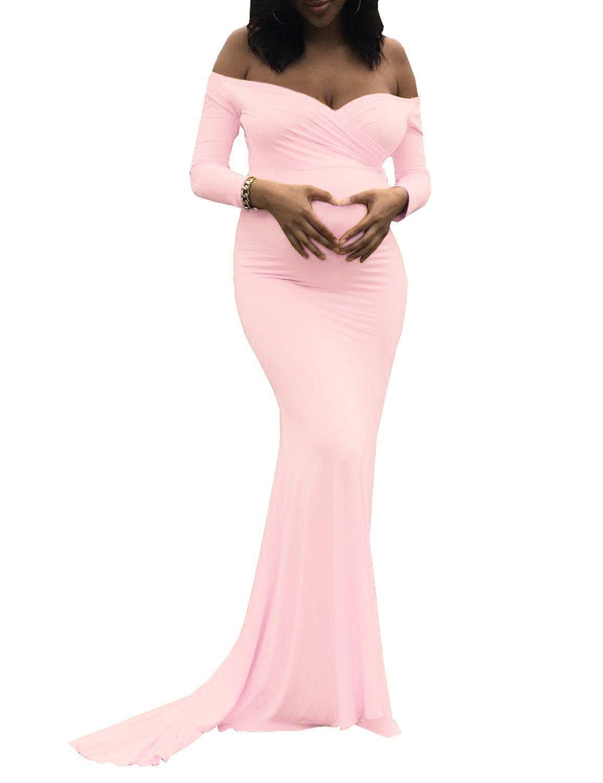 Maternity fashion skinny maternity maxi dress saslax womens off