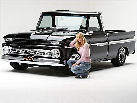 1964 Chevy Shortbed Custom Classic Trucks Chevy Trucks