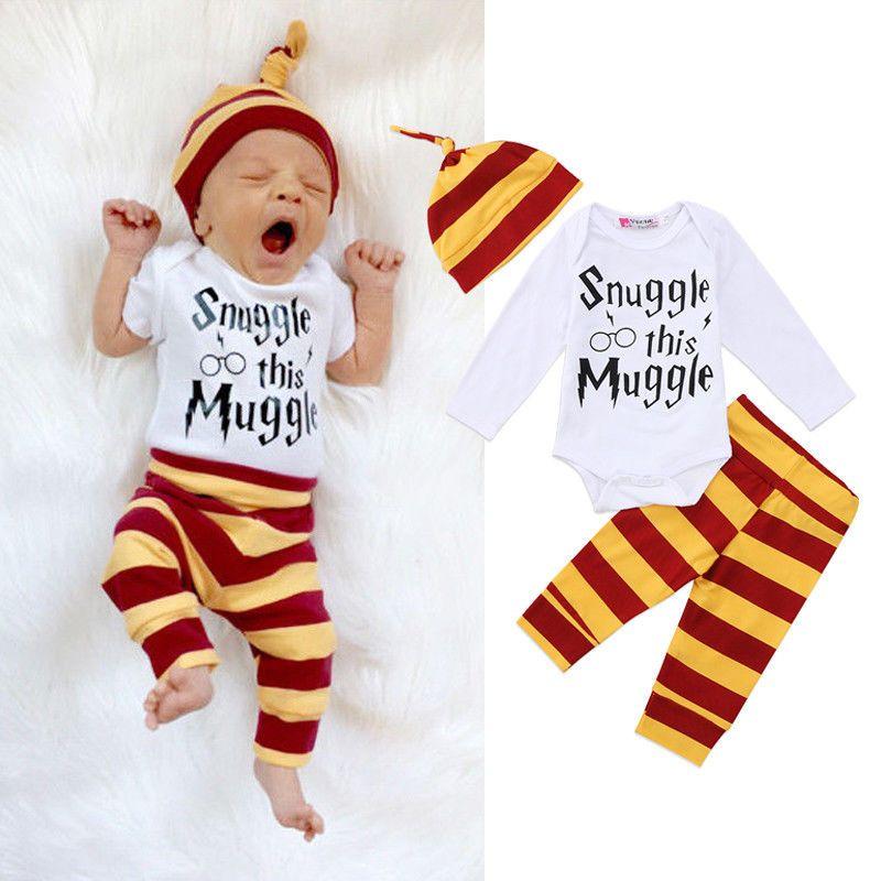 9386b908a3d 8.99AUD - Newborn Baby Boy Girl Jumpsuit Bodysuit Outfit Romper Pants  Leggings Clothes Set  ebay  Home   Garden