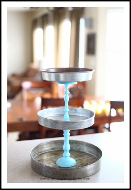 diy tiered wedding cake stand 3 tier cake stand made of cake pans or dollar 13625