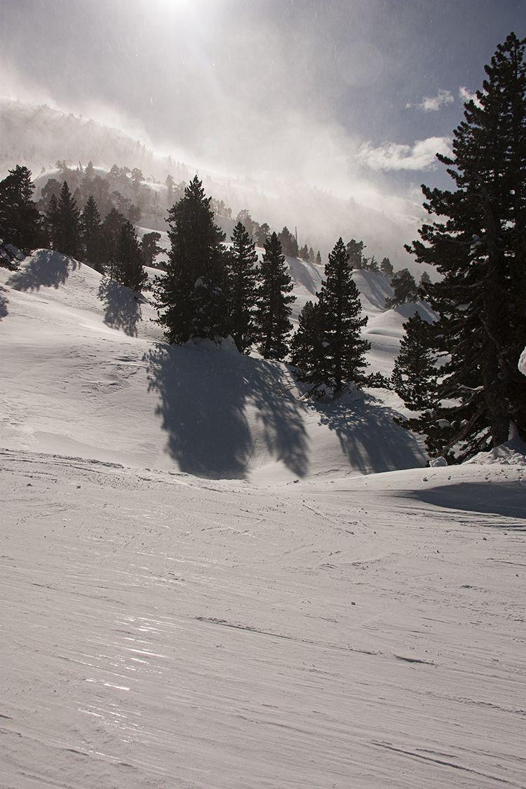 Pirineo Francés. Arette. La Pierrre de Sant Martin. Winter