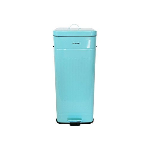 30 Litre Turquoise Blue Pedal Bin Made From Powder Coated Steel This Traditional Retro Trash Can Style Adds Something Diffe Fresh To Your Kitchen
