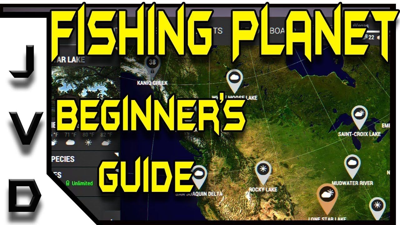 Fishing Planet Beginners Guide | Getting Started as a Low