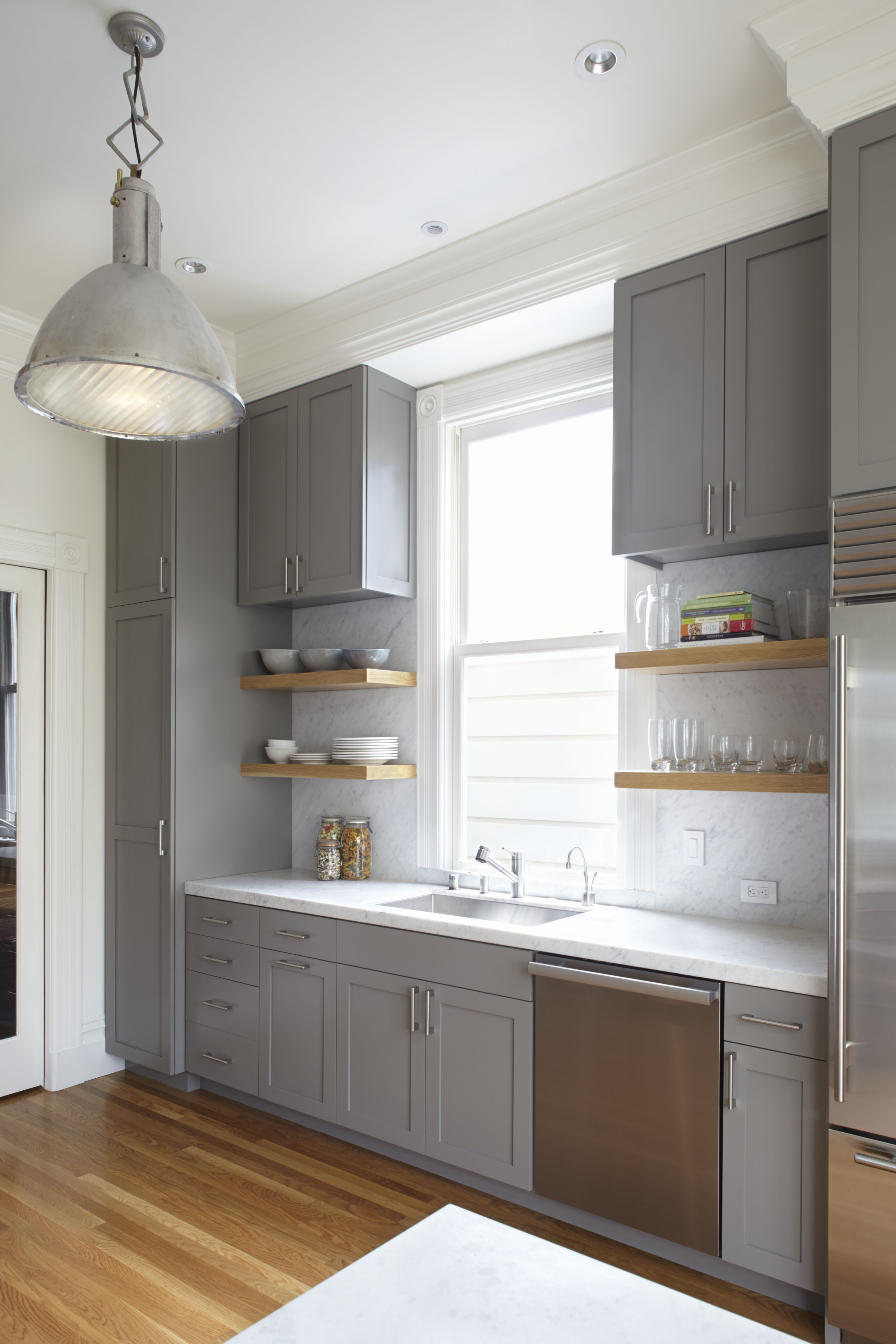Vertical Backsplash Google Search Shaker Style Kitchen Cabinets Painted Kitchen Cabinets Colors Tall Kitchen Storage