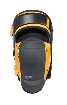 Black Yellow One Size ToughBuilt TB-KP-G205 Stabiliser Knee Pads