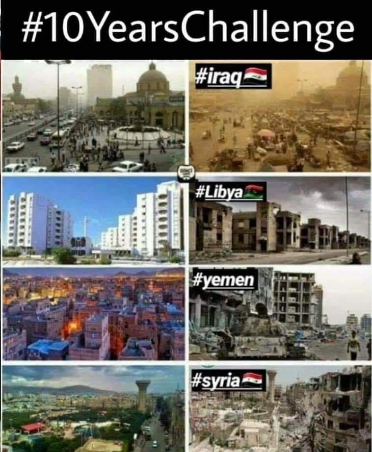 Image result for us wars in iraq, afganistan, libya, syria + to arab countries