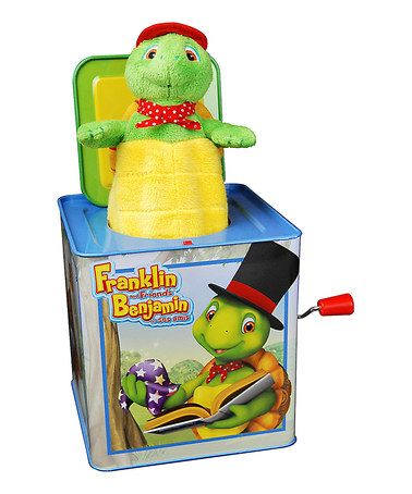 Love this Franklin Jack in the Box by Franklin the Turtle on #zulily! #zulilyfinds