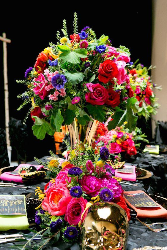Day Of The Dead Wedding Inspiration Decoración Fiestas