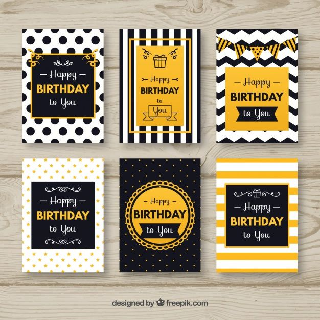 Download Elegant Abstract Birthday Card Pack For Free In 2020 Birthday Card Drawing Birthday Card Printable Creative Birthday Cards