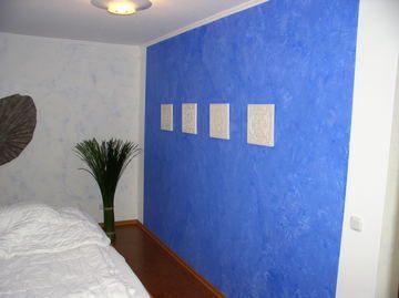 Mut zur farbe im schlafzimmer dekorative raumgestaltung von markus timm malermeister - Raumgestaltung schlafzimmer farben ...