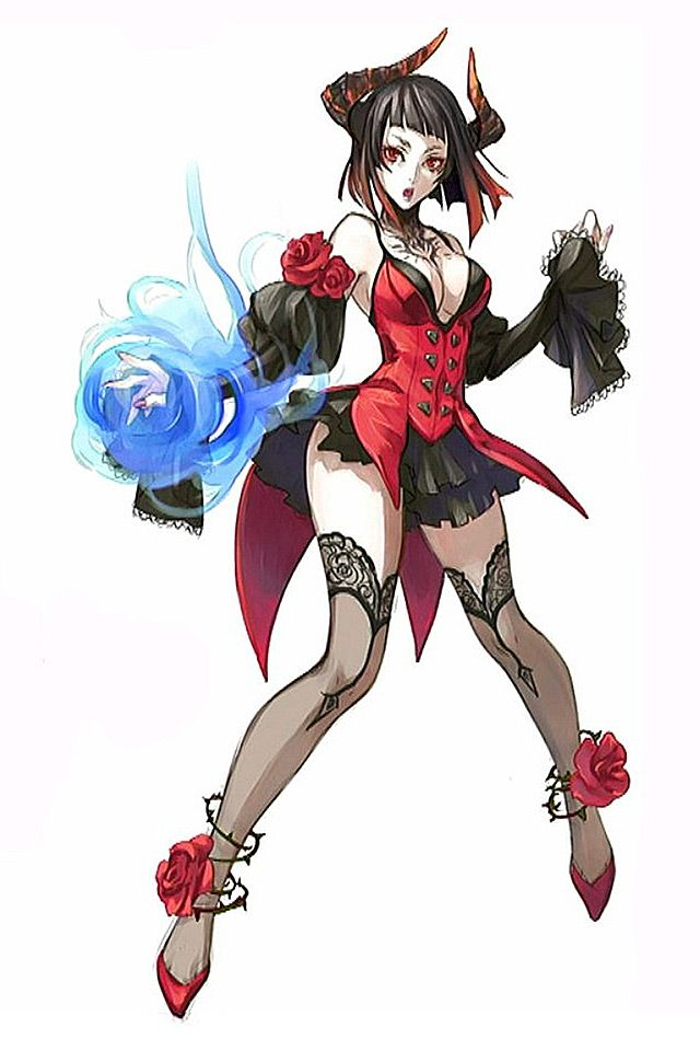 Tekken Revolutions: Female Vampire | Video Game Art ...