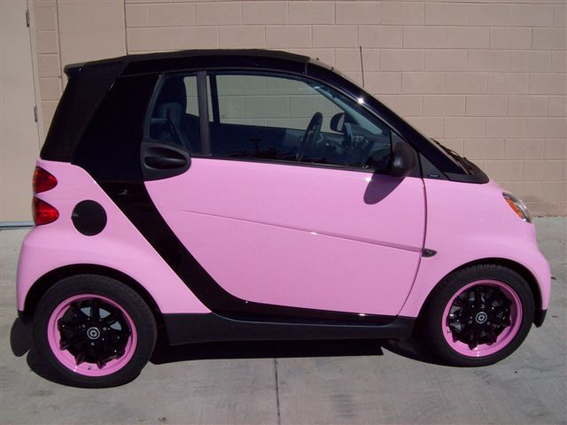Love The Pink Smart Car This Would Work Great Fo Me