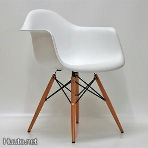 DAW Dining Chair Panton Eiffle White
